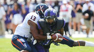 FORT WORTH, Texas — The combination of Casey Pachall and a suffocating defense proved more than Virginia could handle, as No. 17 TCU rolled to a 27-7 victory Saturday afternoon at Amon G. Carter Stadium.