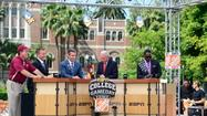 "Check out all of the Orlando Sentinel's videos from the wild scene outside Doak Campbell Stadium on Saturday morning, as ESPN's ""College GameDay"" rolled into Tallahassee for the second time in a year."