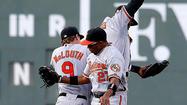 BOSTON — If you're trying to make sense of the Orioles' otherworldly string of 16 straight extra-inning victories, don't even bother.