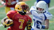 Calvert Hall runs away from Canada's Niagara Academy in football
