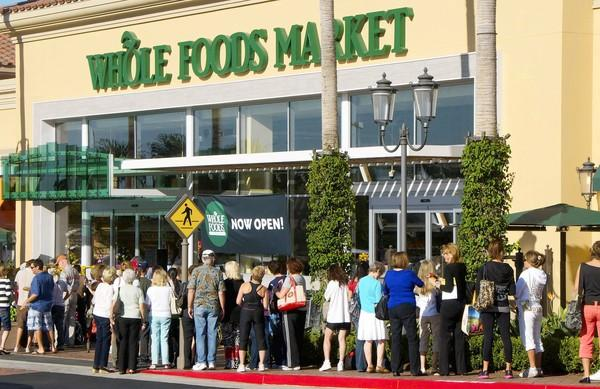 A Whole Foods Market grocery opened its doors at Fashion Island.