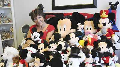 Celebration woman's Mickey Mouse collection sets record