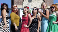 Photos: 1940's Pin-Up Girl Contest