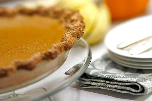 Pumpkin pie is best when spices don't overwhelm the squash's natural flavor.