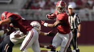 TUSCALOOSA, Ala. — It didn't matter who was on the field for No. 1 Alabama Saturday. Starters, All-Americans, freshmen or fourth-stringers, they were all better than the FAU Owls.