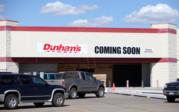 Dunham's Sports will soon fill a part of the Lakewood Mall that has been vacant since Wal-Mart moved to a different location in 2006.