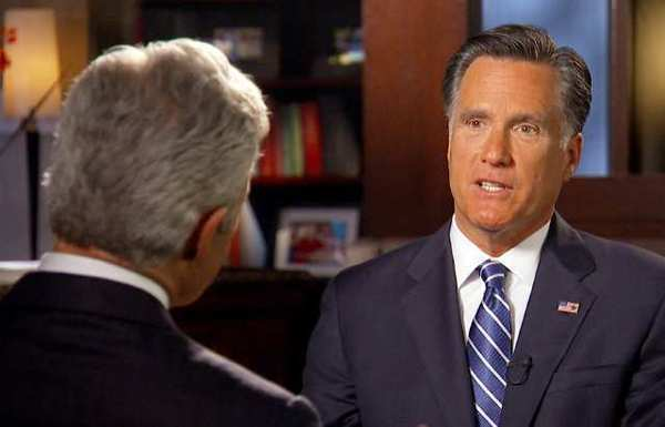 "Presidential candidate Mitt Romney tells Scott Pelley of CBS' ""60 Minutes"" that his campaign does not need a turnaround."