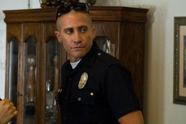"Jake Gyllenhaal stars in ""End of Watch,"" which tied for No. 1 at the box office this weekend."