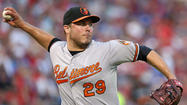Orioles right-hander Tommy Hunter hits 101 mph Saturday, could find home in bullpen