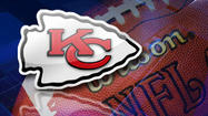 Kansas City center Rodney Hudson and receiver Dexter McCluster have left Sunday's game against the New Orleans Saints after being injured in the third quarter.