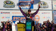 Hamlin takes New Hampshire for 5th win, Bowyer is 4th