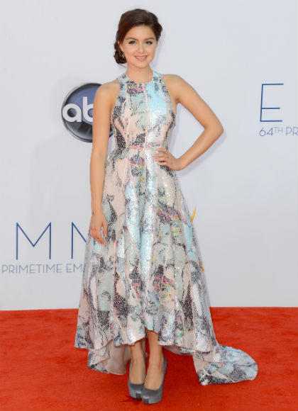 Emmys 2012 red carpet arrival pictures: Ariel Winter, Modern Family