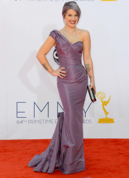 Emmys 2012 red carpet arrival pictures: Kelly Osbourne