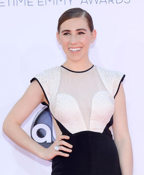 Emmys 2012 red carpet arrival pictures: Zosia Mamet, Girls