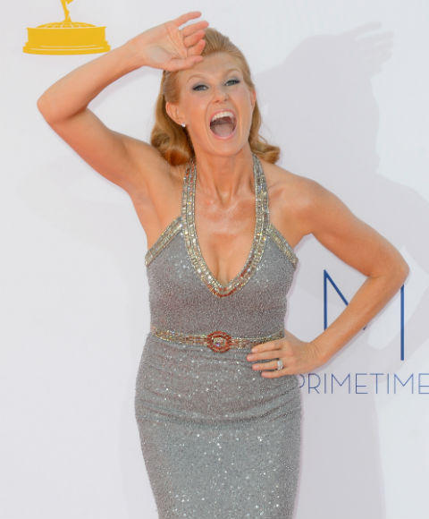 Emmys 2012 red carpet arrival pictures: Connie Britton, American Horror Story
