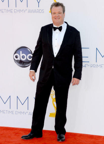 Emmys 2012 red carpet arrival pictures: Eric Stonestreet, Modern Family