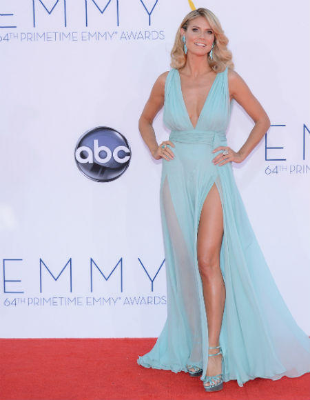 Emmys 2012 red carpet arrival pictures: Heidi Klum, Project Runway