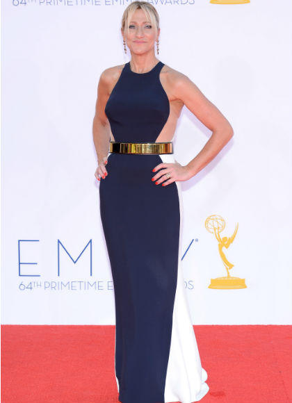 Emmys 2012 red carpet arrival pictures: Edie Falco, Nurse Jackie