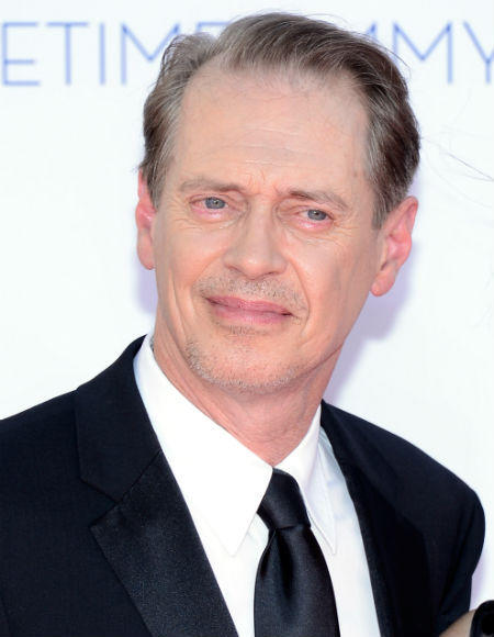 Emmys 2012 red carpet arrival pictures: Steve Buscemi, Boardwalk Empire