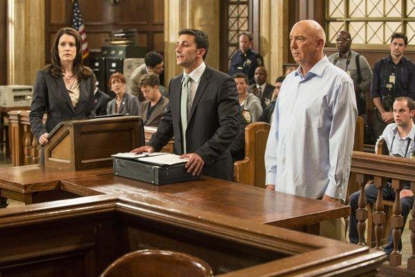 <i>8 p.m. Sept. 26, NBC</i> <br>In last season's cliffhanger, Captain Cragen (Dann Florek, right) woke up in bed with a dead hooker, blood on his hands and no recollection of what happened. As the new season begins, the SVU team works to prove his innocence.