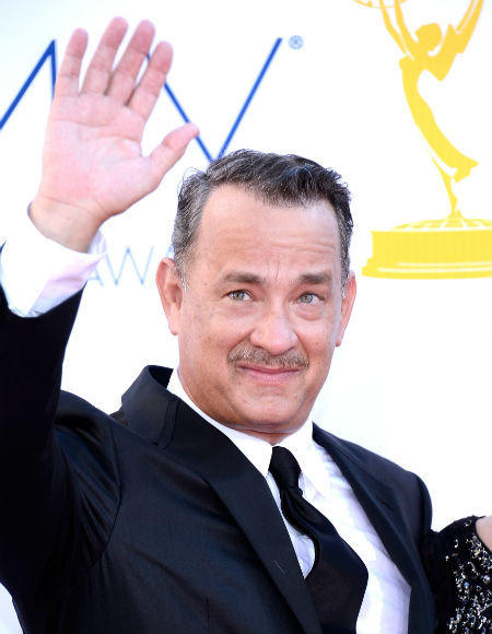 Emmys 2012 red carpet arrival pictures: Tom Hanks