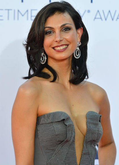 Emmys 2012 red carpet arrival pictures: Morena Baccarin, Homeland