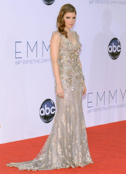 Emmys 2012 red carpet arrival pictures: Kate Mara, American Horror Story