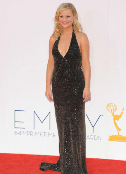 Emmys 2012 red carpet arrival pictures: Amy Poehler, Parks and Recreation