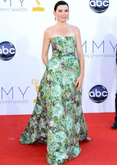 Emmys 2012 red carpet arrival pictures: Julianna Margulies, The Good Wife