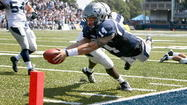 Slacker that he is, Old Dominion quarterback Taylor Heinicke fell 7 yards shy of breaking college football's single-game passing record Saturday against New Hampshire.