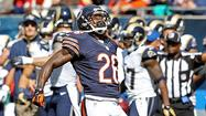 Thanks to cornerback Tim Jennings, Major Wright was able to break out his new touchdown celebration Sunday.