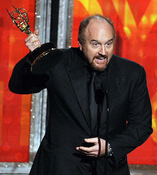 2012 Primetime Emmy winners and nominees: Chris McKenna, Community Lena Dunham, Girls  Louis C.K., Louie Amy Poehler, Parks and Recreation Michael Schur, Parks and Recreation