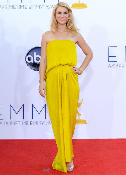 Emmys 2012 red carpet arrival pictures: Claire Danes, Homeland