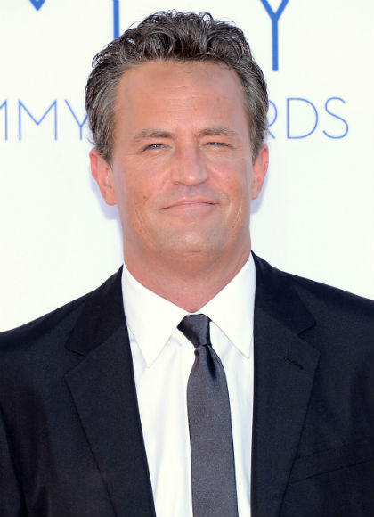 Emmys 2012 red carpet arrival pictures: Matthew Perry, Go On