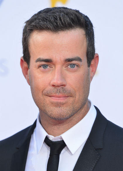 Emmys 2012 red carpet arrival pictures: Carson Daly, The Voice