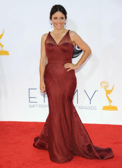 Emmys 2012 red carpet arrival pictures: Julia Louis-Dreyfus, Veep