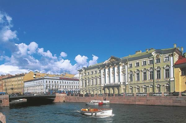 St. Petersburg, Russia, considered by some to be the most beautiful city in Europe, is a 31/2-hour train ride from Helsinki.