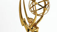 "Showtime's psychological thriller ""Homeland"" upstaged the more established dramasat the 64th Primetime Emmys Sunday night, winning four Emmys, including the top drama series honor."