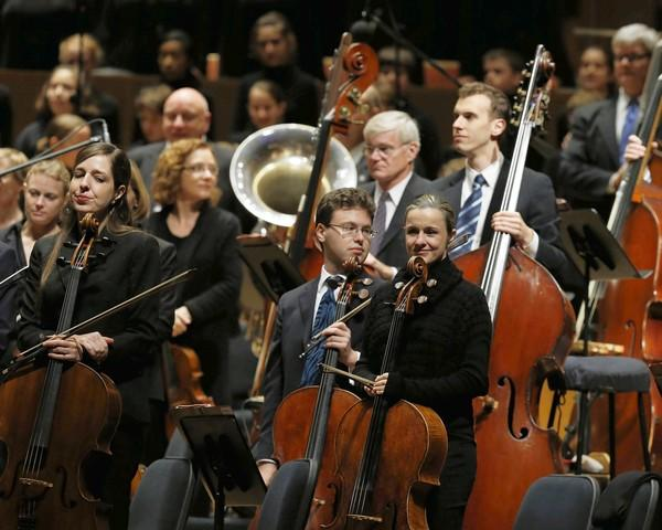 Riccardo Muti and the Chicago Symphony Orchestra perform at Pritzker Pavilion in Millennium Park.