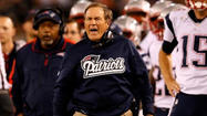 In the postgame interview room adjacent to his team's locker room, Bill Belichick wore a pained expression and was barely audible after the New England Patriots' last-second 31-30 loss to the Ravens on Sunday night.