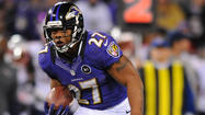 Instead of essentially abandoning the running game like they did a week ago during the second half of a loss to the Philadelphia Eagles, the Ravens found a way to make Pro Bowl running back Ray Rice a vital part of the offense on Sunday night.