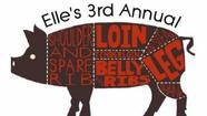 Third annual Porketarian Dinner Series at Elles in Miramar