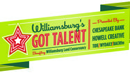 On Friday, I'll be in Williamsburg doing my best Howard Stern immitation. Or maybe, I'll be mimicking Howie Mandel. The bottom line is that I'll be a judge at this year's <strong>Williamsburg's Got Talent</strong> competition.