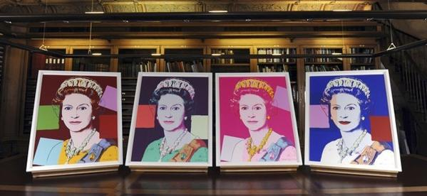 Four Andy Warhol portraits of Queen Elizabeth II have been acquired by Britain's Royal Collection.
