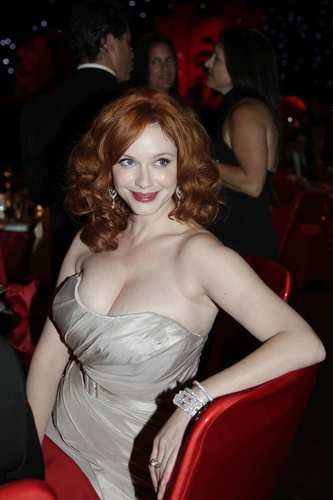 """Mad Men"" actress Christina Hendricks. <br><style type=""text/css"">