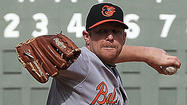 Orioles left-hander Randy Wolf has been shelved with left elbow discomfort, manager Buck Showalter said Monday.