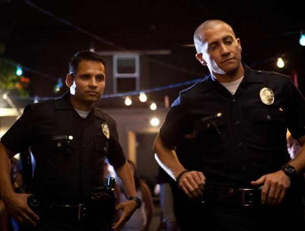 "Michael Pena and Jake Gyllenhaal star in ""End of Watch,"" which was the No. 1 film at the box office this weekend."