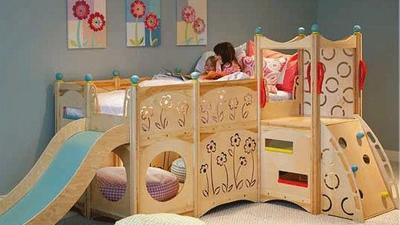 Creative kids' rooms