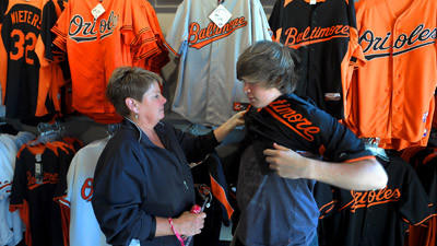 Sales of Orioles wear skyrockets