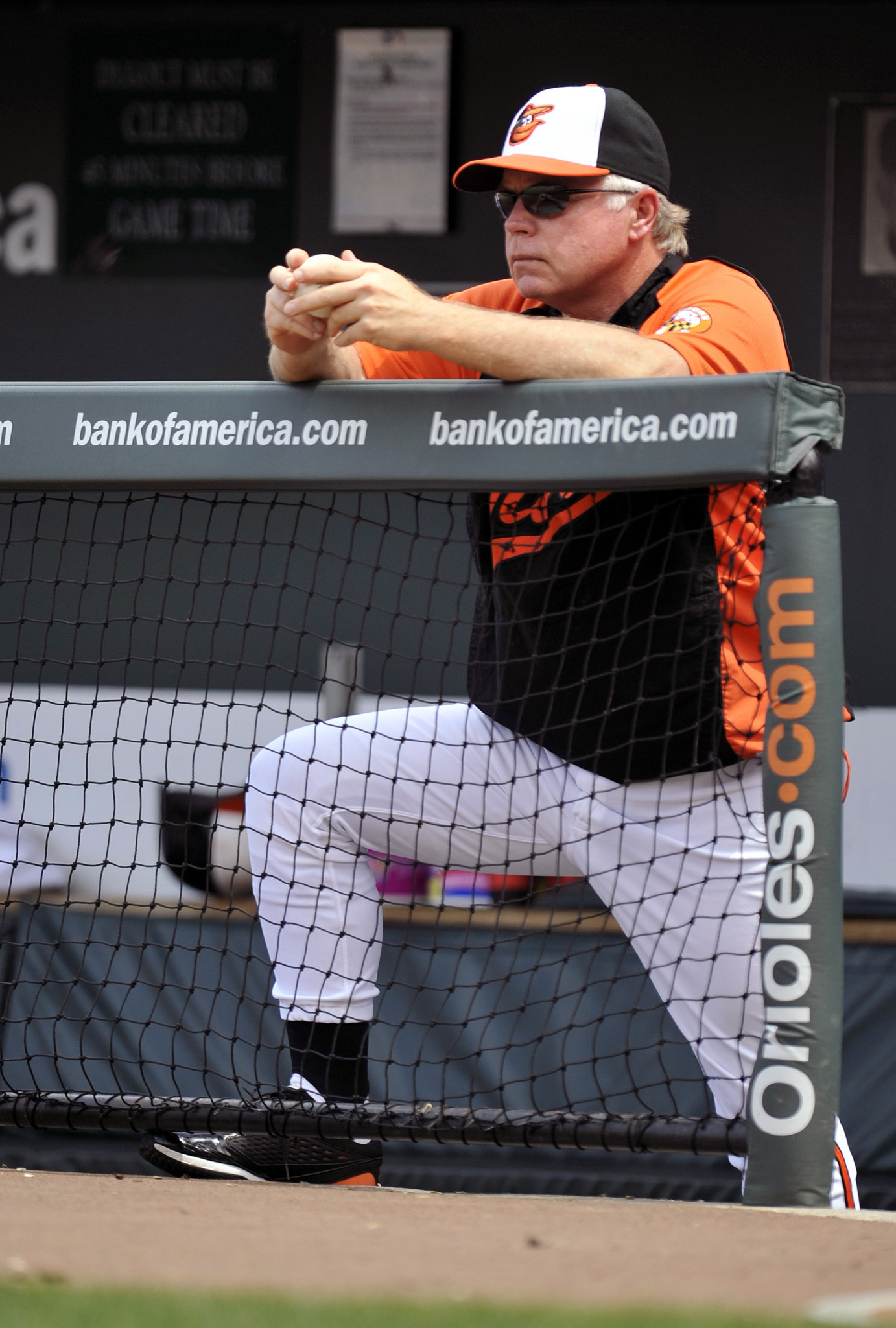 The many emotions of Buck Showalter [Pictures] - Patient